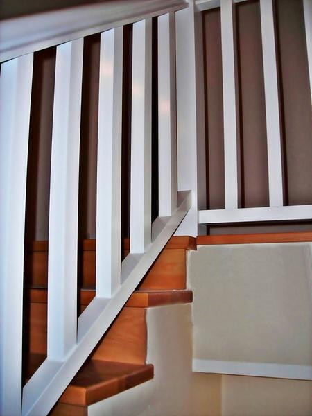 Esbais escaleras y barandillas de scar - Barandilla de madera exterior ...