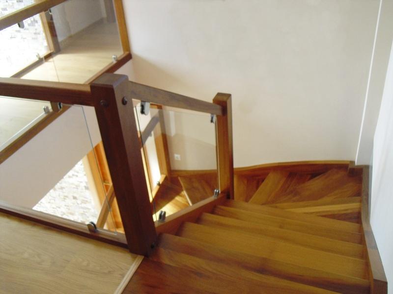 Esbais escaleras y barandillas de scar - Barandilla cristal escalera ...