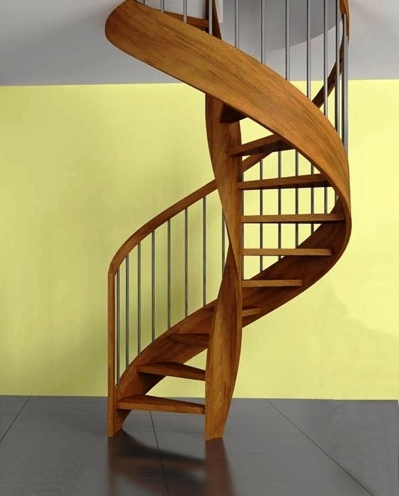 Escalera de caracol de madera awesome escalera caracol - Escaleras de caracol de madera ...