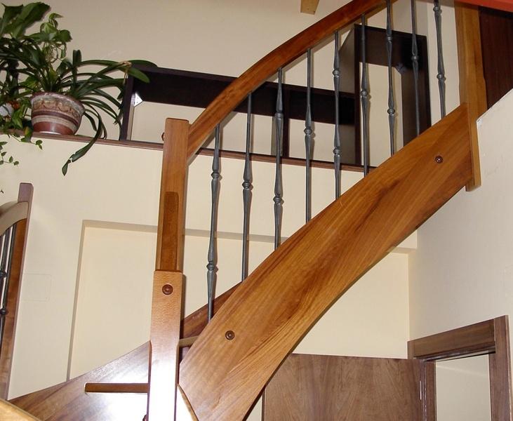 Esbais escaleras y barandillas de scar - Escaleras de madera adorno ...